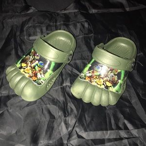 Other - TMNT sandals size toddler 5/6